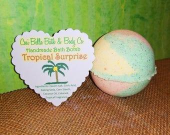 Tropical Surprise ~ Bath Bomb