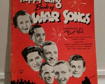 The Happy Gang , War Time Songbook , 1940s