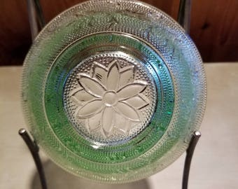 Vintage Sandwich Green Indiana Chantilly Green Individual Salad Bowl (4) Available