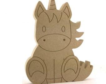 Unicorn plaque, sitting unicorn, wooden unicorn, Unicorn decoration, Unicorn decor, custom unicorn