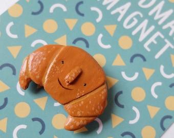 Handmade Croissant Magnet
