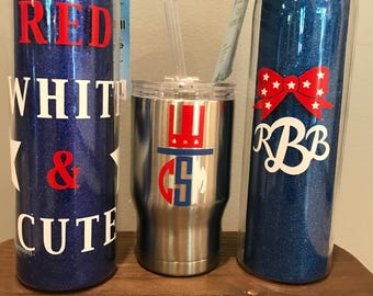 4th of July Tumblers!