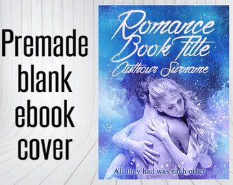 Premade Blank Ebook Cover - Cool Embrace