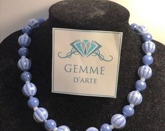 Pearl short necklace medium