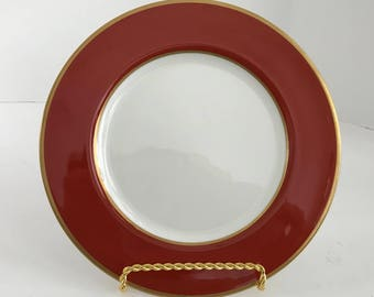 """Vintage Mikasa Bone China Egyptian Terracotta 6 1/2"""" Bread and Butter Plate A6850"""