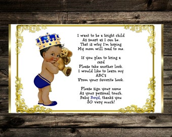 Royal Baby Shower Book Request