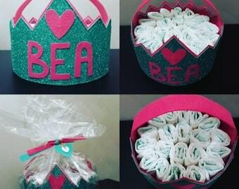Gift Idea. Diaper basket.