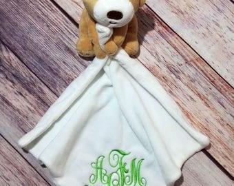 Baby Blanket, Teddy Bear Blanket, Security Blanket