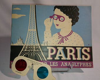 The Anaglyph embossed book Paris