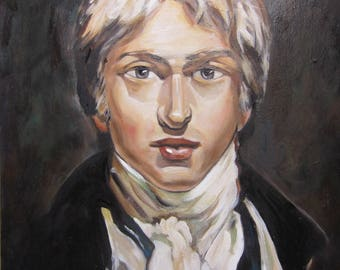 SELF-portrait William TURNER print - portrait oil painting