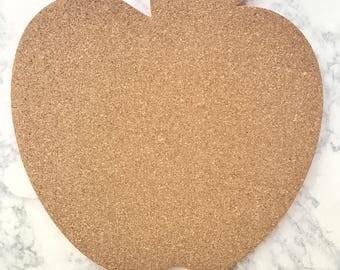 custom apple cork board