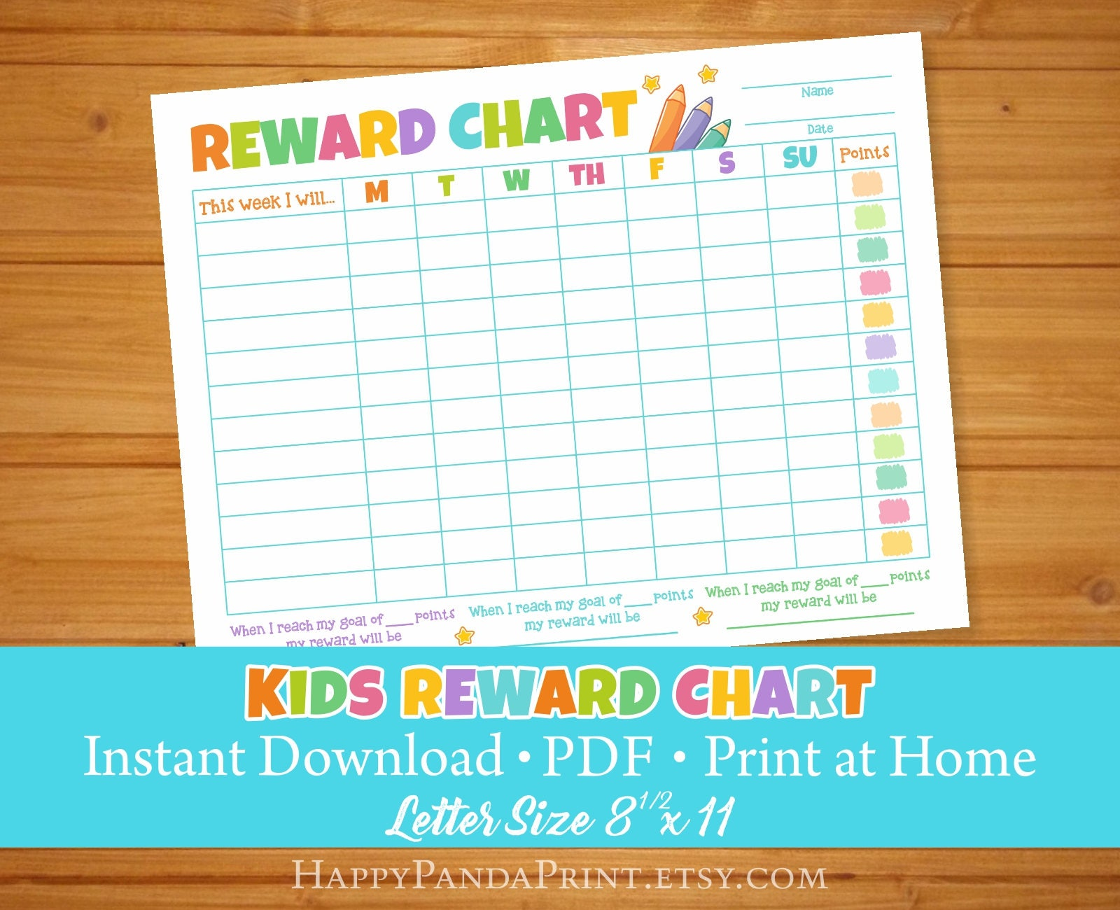 This is an image of Canny Toddler Reward Chart Printable