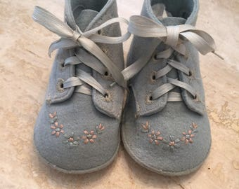 Pair of Vintage Baby Shoes