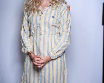 VINTAGE Brooks Brothers Polo Farm Dress