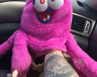 Monster inc disney hand puppet