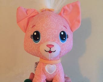 Fisher price pink plush kitty