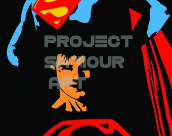 Superboy Legacy Print A4