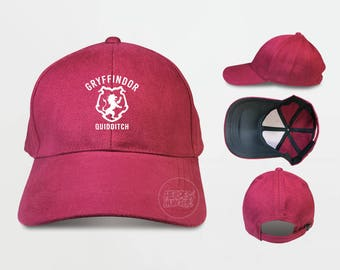 Gryffindor Quidditch Baseball Caps Harry Potter Gryffindor Caps tumblr caps