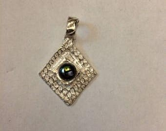 Silver and Dichroic Glass