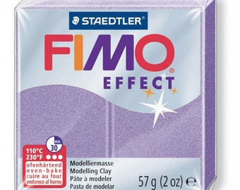 Polymer clay Fimo Effect 57 g - lilac Pearl n - 607