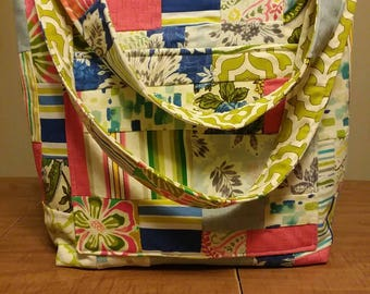 HUGE SALE! Large Quilted Beautiful Purse