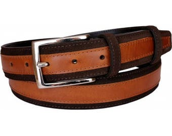 Suede Belt Two Colors