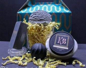 Fifty Shades of Gray               Spa Gift Set / Bath Set / Gifts for Him / Gifts for Her / Bath Bomb / Bar Soap / Body Butter / Lip Balm/