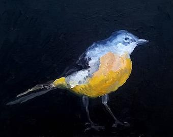 Yellow Bird Oil Painting