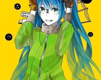 Miku Vocaloid Matroshka cosplay costume