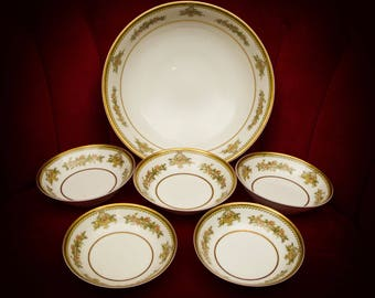 Haviland & Co. Limoges Berry Bowls and Serving Bowl