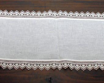 Sicilian Linen Table Runner Set