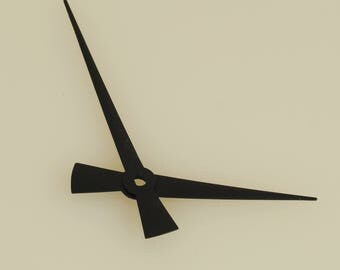 Black Clock Hands 100 Pieces