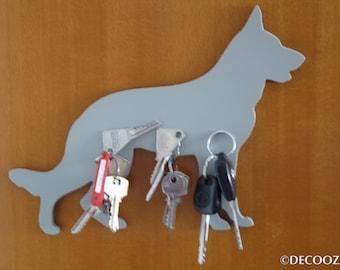 GERMAN SHEPHERD - Shepherd - Powerful, Versatile and Decorative magnet - strong Magnet decorative door objects