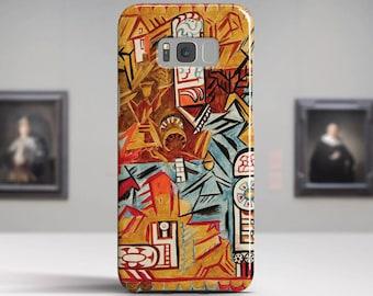 "Natalia Goncharova, ""Le Coq d'Or"".Samsung Galaxy S8 Plus Case LG V30 case Google Pixel Case Galaxy A5 2017 Case. Art phone cases."
