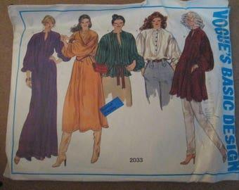 Vogue Pattern 2033