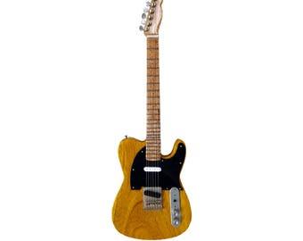 "Miniature Guitar Replica: Bruce Springsteen ""1950s mutt"""