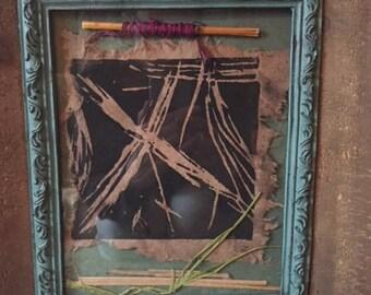 handmade fiber art