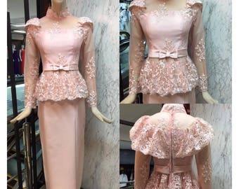 Pikulraht Thai Dress Rama5 stly- Gold