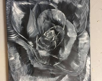 Original Abstract rose