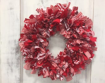 Red Rag Wreath