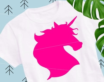SVG Unicorn head svg Unicorn svg Unicorn horn svg Unicorn birthday svg files for Cricut Silhouette svg png eps dxf  Unicorn cut file unicorn