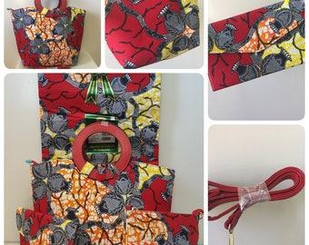 High Quality women hand bag african Vlisco  wax prints fabric Super Wax (4pieces)