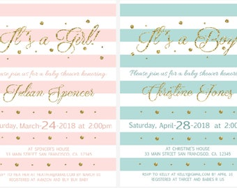 Baby Shower Printable Invitation!