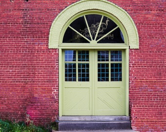 Vintage Doors with Brick Digital Download