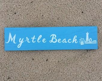 Myrtle Beach Wall Sign