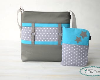 Diaper bag for boys with diaper clutch | diaper pouch baby shower gift | diaper bag set |