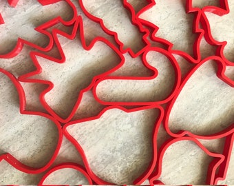 Christmas Cookie Cutters - Choose any 8