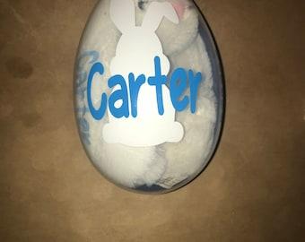 Easter Egg-Personalized Easter Egg-Easter present-Easter basket filler-Easter egg hunt
