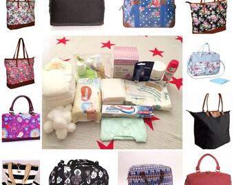 Essential prepacked maternity hospital bag