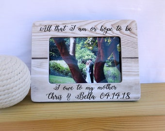 Mother of the Bride Gift Mother of the Bride Frame Thank You Gift for Mother of the Bride